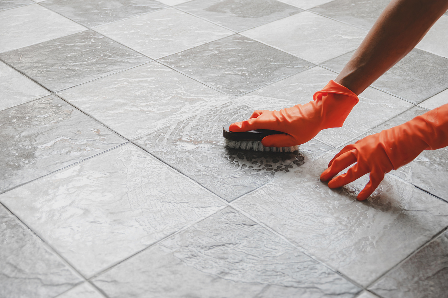 procedures for providing tile and grout cleaning